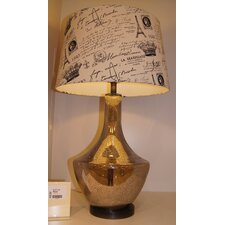 "Ambiento 33"" H Table Lamp with Empire Shade"