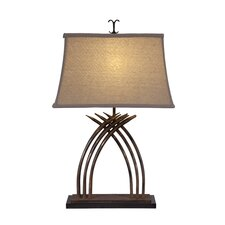 "Zulu 29"" H Table Lamp with Empire Shade"