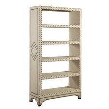 "<strong>Bassett Mirror</strong> Hampton 77"" Bookcase"