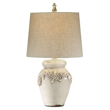"Eleanore 25"" H Table Lamp with Empire Shade"