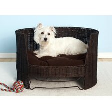 Dog Day Bed with Indoor Cushion