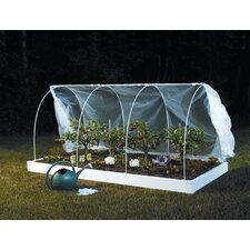 "Multi Season System 3' 7"" H x 4' W x 8' D Standard Mini Greenhouse"