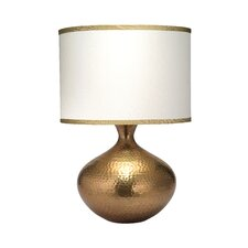"""Taza 25"""" H Table Lamp with Drum Shade"""