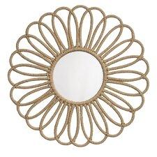 Jute Flower Mirror