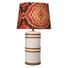 "Barrel 30"" H Table Lamp with Empire Shade"