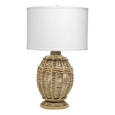 Jute Urn Small Table Lamp