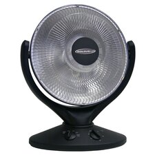 800 Watt Compact Parabolic Reflective Space Heater
