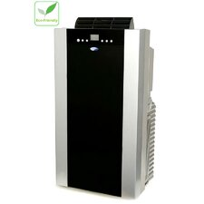 14000 BTU Dual Hose Portable Air Conditioner with Heater and Remote
