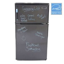 3.1 cu. ft. Compact Double Door Refrigerator