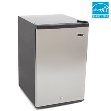 2.1 cu. ft. Energy Star Upright Freezer with Lock
