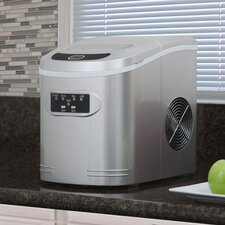 Compact Portable Ice Maker 27 lbs Capacity