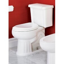 <strong>St Thomas Creations</strong> Arlington Chair-Height 1.28 GPF Elongated 2 Piece Toilet