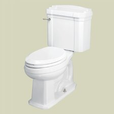 Neo-Venetian Chair-Height Front 1.28 GPF Round 2 Piece Toilet