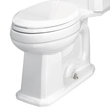 Chair-Height Front 1.28 GPF Round Toilet Bowl Only