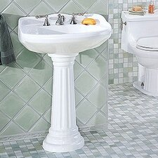 <strong>St Thomas Creations</strong> Arlington Medium Pedestal Bathroom Sink