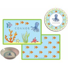 The Kids Tabletop Under The Sea Place Setting (Set of 3)