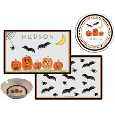 The Kids Tabletop Haunted Halloween Place Setting (Set of 3)