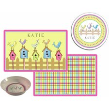 The Kids Tabletop For The Birds Place Setting (Set of 3)