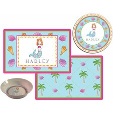 The Kids Tabletop Mermaid Place Setting (Set of 3)