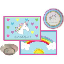 The Kids Tabletop Over The Rainbow Place Setting (Set of 3)