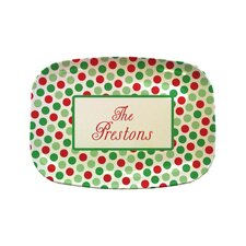 "Everyday Tabletop 14"" Christmas Rectangular Platter"