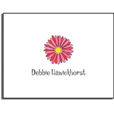 Stationery Collection Gerber Daisy Folded Notes
