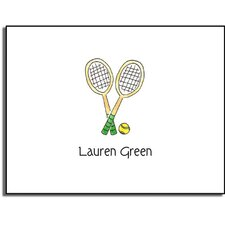 Stationery Collection Tennis Pro Folded Notes