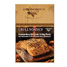 Grillnomics Cedar Grilling Planks (Set of 10)