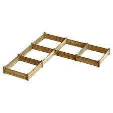 "Modular ""L"" Shape Raised Garden Bed"