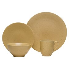 Whole Wheat 16 Piece Dinnerware Set