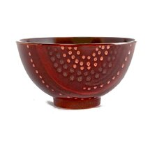 Organic Brown 96 oz. Coupe Salad Bowl (Set of 2)