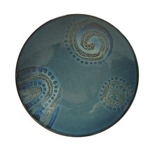 "<strong>Red Vanilla</strong> Organic Blue 8.5"" Salad Plate (Set of 4)"