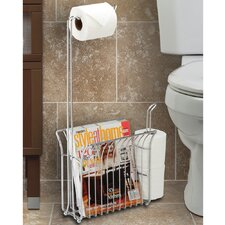 Free Standing Toilet Mate Tissue Dispenser and Organizer