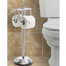 Free Standing Toilet Duo Tissue Dispenser