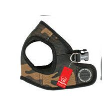 Soft Camo Dog B Vest Harness