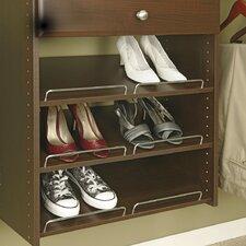 Closet Organizers 3 Count Truffle Shoe Shelves