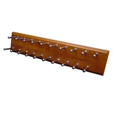 Molded Wood Tie Rack