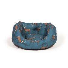 Woodland Stag Deluxe Slumber Bed in Midnight Blue