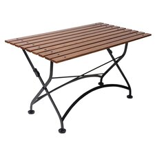 French Bistro European Café Folding Coffee Table/Bench
