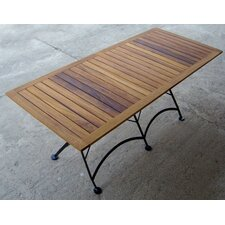 "<strong>Furniture Designhouse</strong> European Café  32"" x 72"" Folding Table"