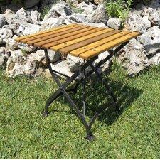European Café Folding Coffee Table/Bench