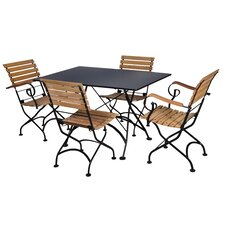European Café 5 Piece Dining Set