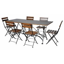 European Café 6 Piece Dining Set