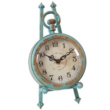 Round Pocket Watch Table Clock