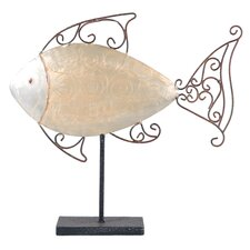 <strong>Wilco</strong> Fish Table Decor Statue
