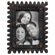 <strong>Wilco</strong> Distressed Sawtooth Tabletop Easel Picture Frame
