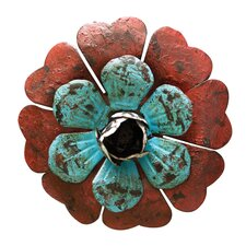 Metal Magnet Flower Decor