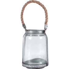 Glass / Metal / Rope Jar