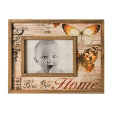 "<strong>Wilco</strong> Wood ""Home"" Picture Frame"