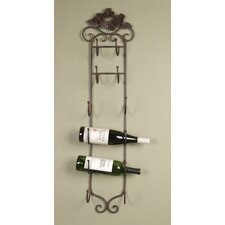 <strong>Wilco</strong> 6 Bottle Wall Mount Wine Rack